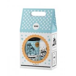 Zestaw Prezentowy Zimowe Ciasteczka dwupak: balsam 300ml + mydło 500ml Yope