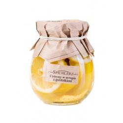 Cytryny w syropie z goździkami 260g Spichlerz