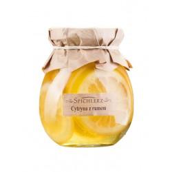 Cytryny w syropie z rumem 260g Spichlerz