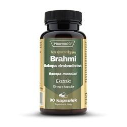 Pharmovit Brahmi Bacopa monnieri ekstrakt 20:1 20 mg x 90 kaps.