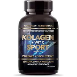 KOLAGEN + WITAMINA C SPORT x 90 tabletek