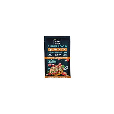 QUINOTTO Z WARZYWAMI I CURRY 80g Intenson Healthy LUNCH