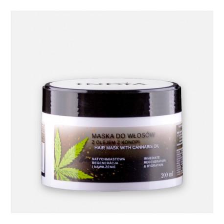 Maska do włosów 200ml - India Cosmetics