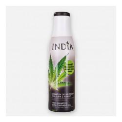 Szampon do włosów z o.konopnym 400ml - India Cosmetics