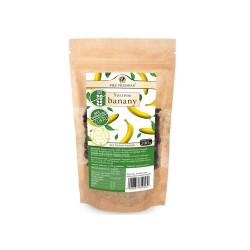 Banany suszone bez dodatku cukru 200 g - Pięć Przemian
