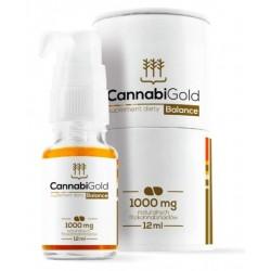 OLEJEK CBD CANNABIGOLD BALANCE 1000 mg 12ml  Hempoland