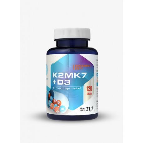 WITAMINA K2 MK7 + D3 HEPATICA 120 KAPS