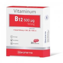 WITAMINA VITAMINUM B12 STRONG 30 TABLETEK STARPHARMA