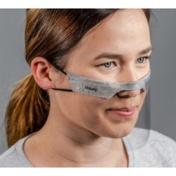 Vitberg Mini Shield mask / mini przyłbica zakrywająca usta i nos 2 szt. / DOSTEPNE OD RĘKI!!!/ NOWA NIŻSZA CENA !!!