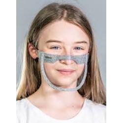 Vitberg Mini Shield KIDS mask / mini przyłbica DLA DZIECI na usta i nos 2 szt. /maseczka/ OD RĘKI!  /