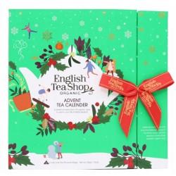 KALENDARZ ADWENTOWY HERBATA GREEN BOOK ENGLISH TEA BIO 25T