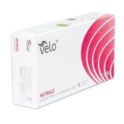 Rękawiczki nitrylowe, bezpudrowe VELO rozmiar L x 100 sztuk