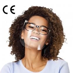 CERKAMED PRZYŁBICA OCHRONNA Osłonki pod okulary SMART SHIELD – zestaw 2 folii