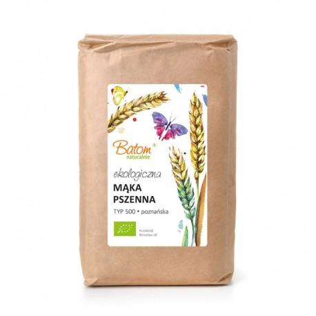 Mąka pszenna TYP 500 poznańska 1kg BATOM BIO