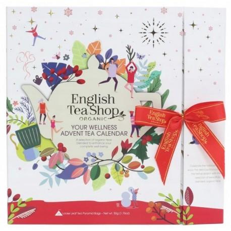 KALENDARZ ADWENTOWY HERBATA WHITE BOOK ENGLISH TEA BIO 25 T