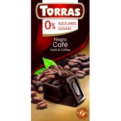Czekolada gorzka z kawą 75g Tottas Bez cukru