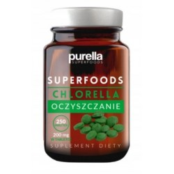 Chlorella 250 tabl. Purella superfoods