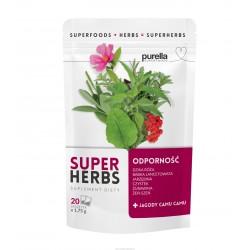 Herbata PURELLA SUPERFOODS Super Herbs Odporność 20sasz.