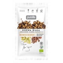 Purella  Morwa biała i kruszone ziarna kakao Bio 45 g