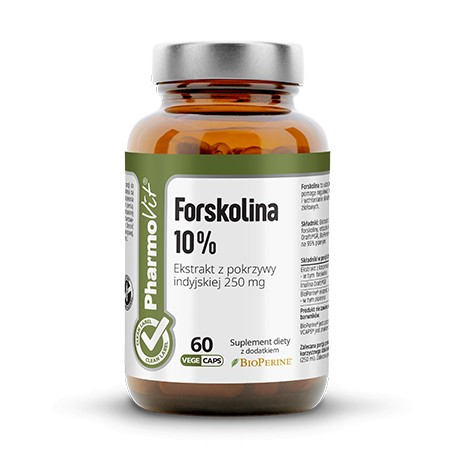 Pharmovit Forskolina 10% Ekstrakt z pokrzywy indyjskiej 250 mg