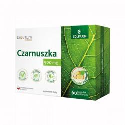 Czarnuszka 500 mg x 60 kapsułek roślinnych Biovitum Liquid COLFARM
