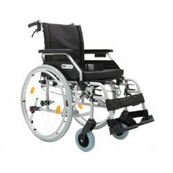 Wózek inwalidzki aluminiowy Dynamic z kołami anty-wywrotnymi