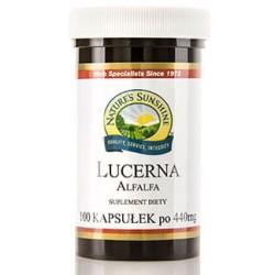 Lucerna x 100 kapsułek Nature's Sunshine