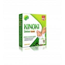 Plastry oczyszczające Kinoki detox gold Aura Herbals 10 szt.